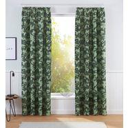 bruno banani gordijn »camouflage« groen
