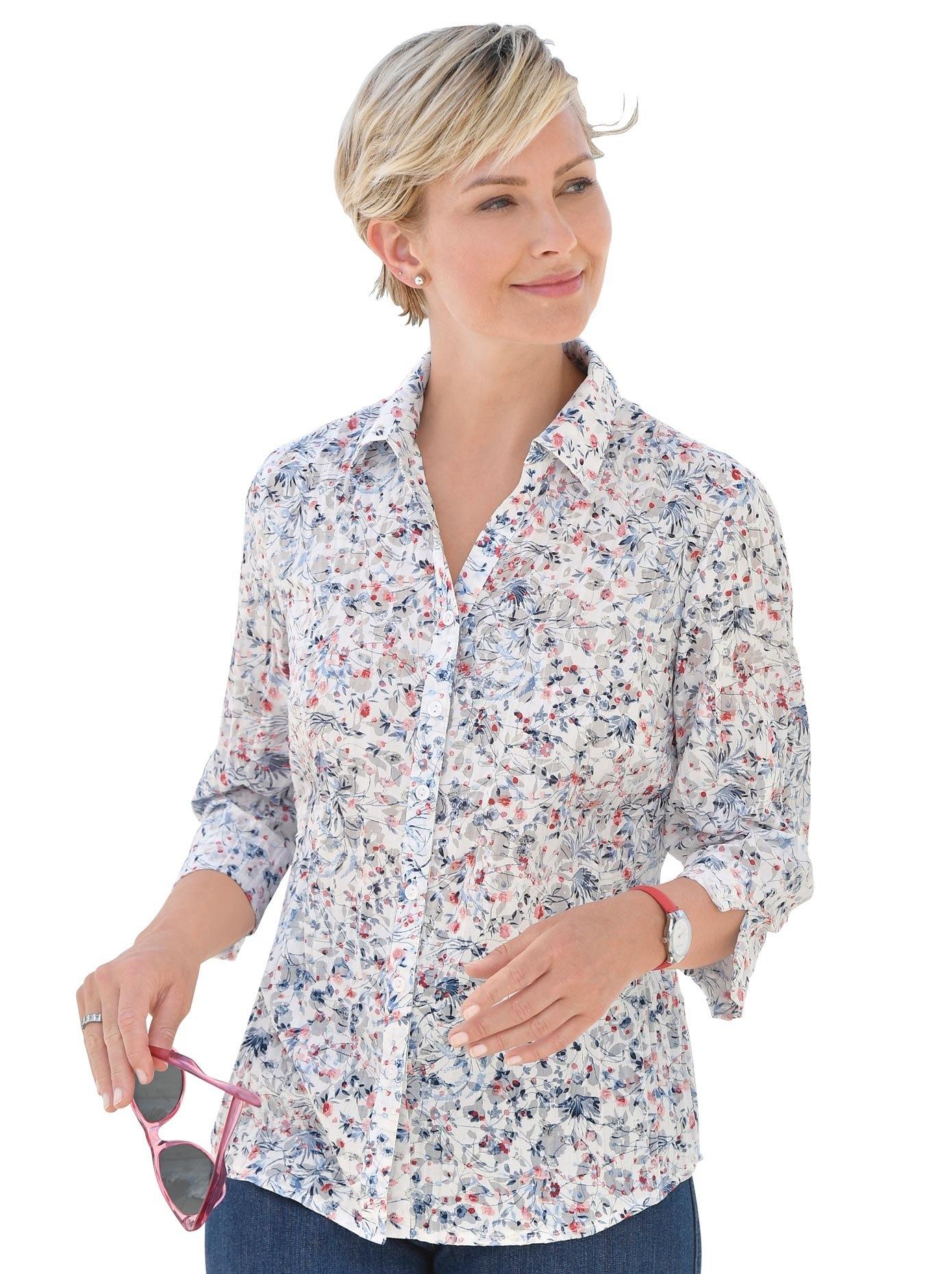 Classic Basics blouse met korte mouwen nu online bestellen