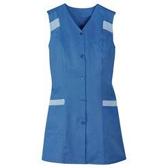 tuniekschort met opgestikte zakken blauw
