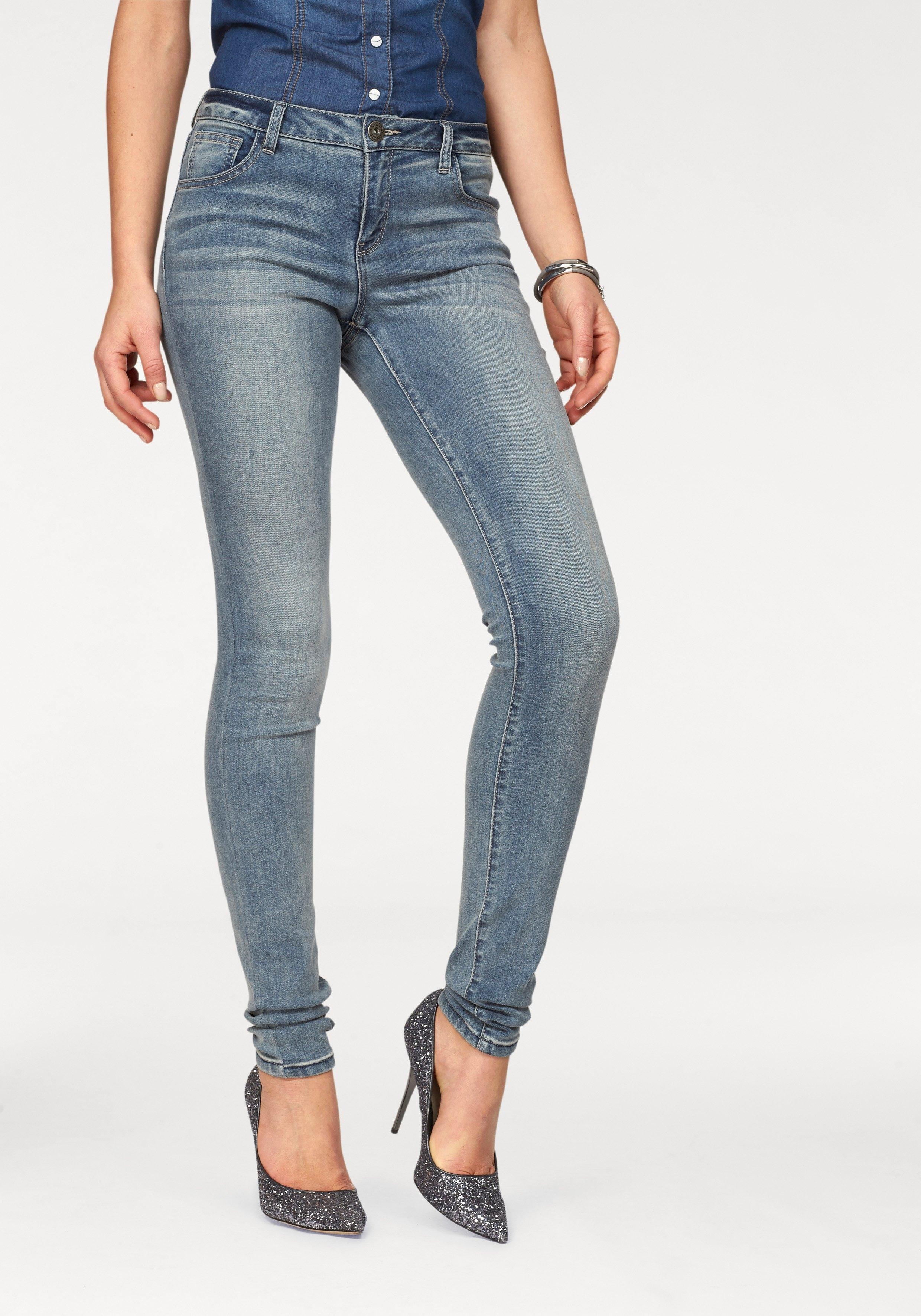 Arizona skinny fit jeans Ultra Stretch Mid waist bestellen: 30 dagen bedenktijd