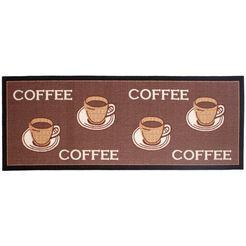 keukenloper, andiamo, »coffee«, getuft bruin