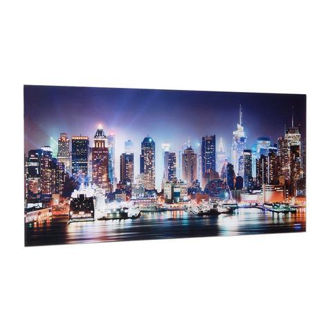 Print achter glas ''New york city times square'' 50x100cm, Artland