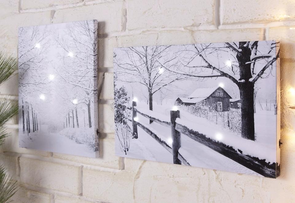 landschap schilderij kopen bekijk onze collectie otto. Black Bedroom Furniture Sets. Home Design Ideas