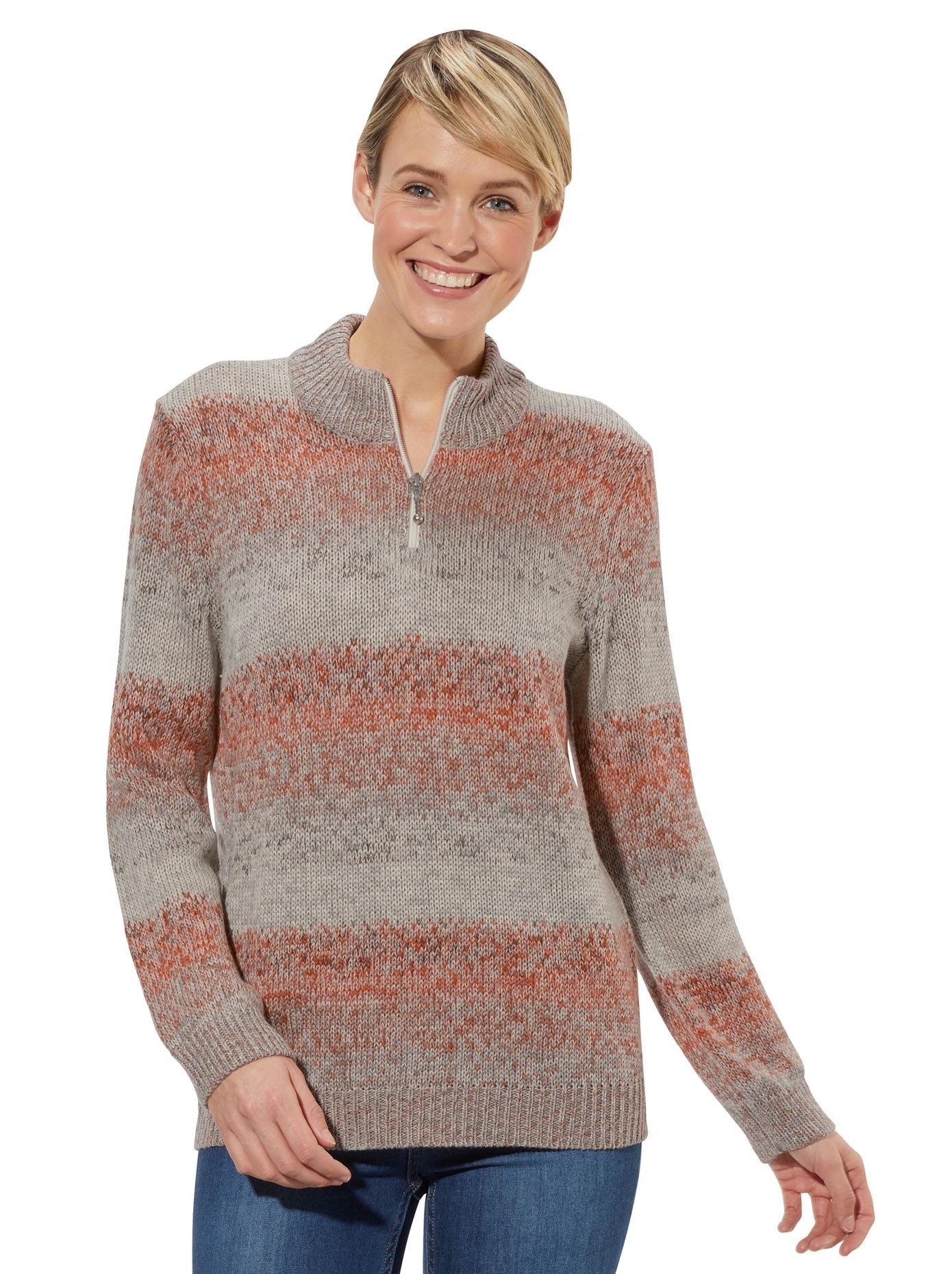 Op zoek naar een Classic Basics trui met staande kraag Trui? Koop online bij OTTO