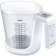 korona keukenweegschaal mia 2 in 1 functie: wegen en meten wit