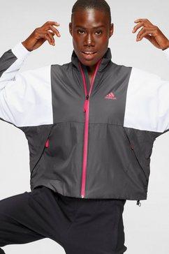 adidas performance allweatherjack »women light jacket« grijs