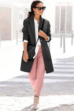 lascana lange jas zwart