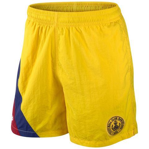 Nike Sportswear FC BARCELONA COVERT TEAM Shorts tour yellow/deep royal blue
