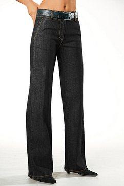 classic inspirationen jeans met stretch zwart