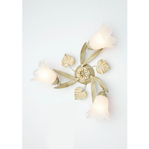 Plafondlamp Florentijnse serie met 3 fittingen