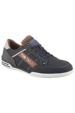 tom tailor sneakers met logoapplicatie blauw