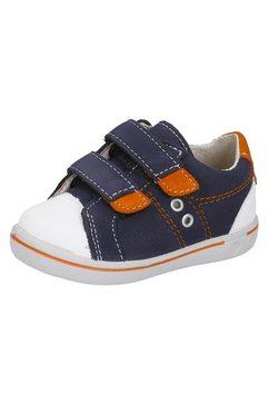pepino by ricosta sneakers nippy - wms-wijdte-meetsysteem, wijdte: middel met modieuze rubberneus blauw