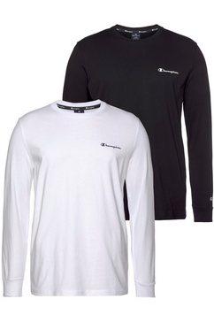 champion t-shirt (set, set van 2) wit