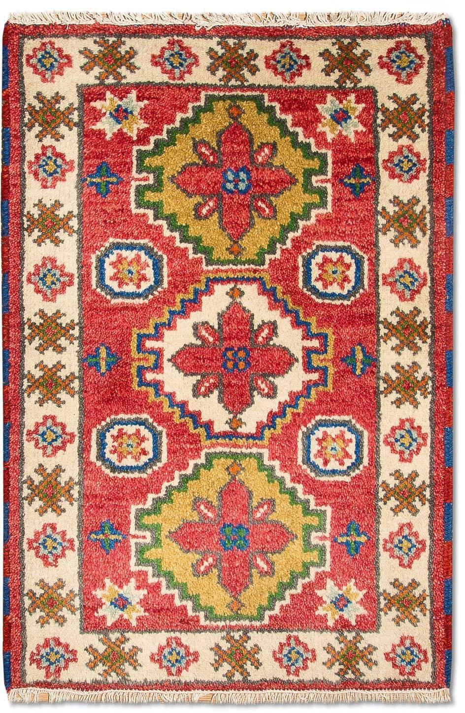 morgenland wollen kleed Kazak Teppich handgeknüpft rot bij OTTO online kopen