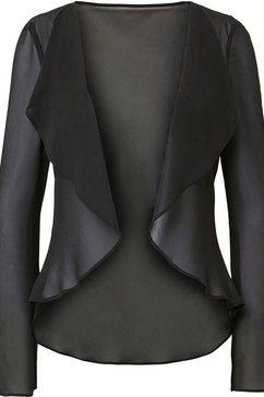 hermann lange collection blouseblazer ella gemaakt van chiffon zwart