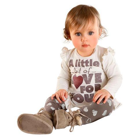 Babyworld shirt met lange mouwen en legging, 2-delige set