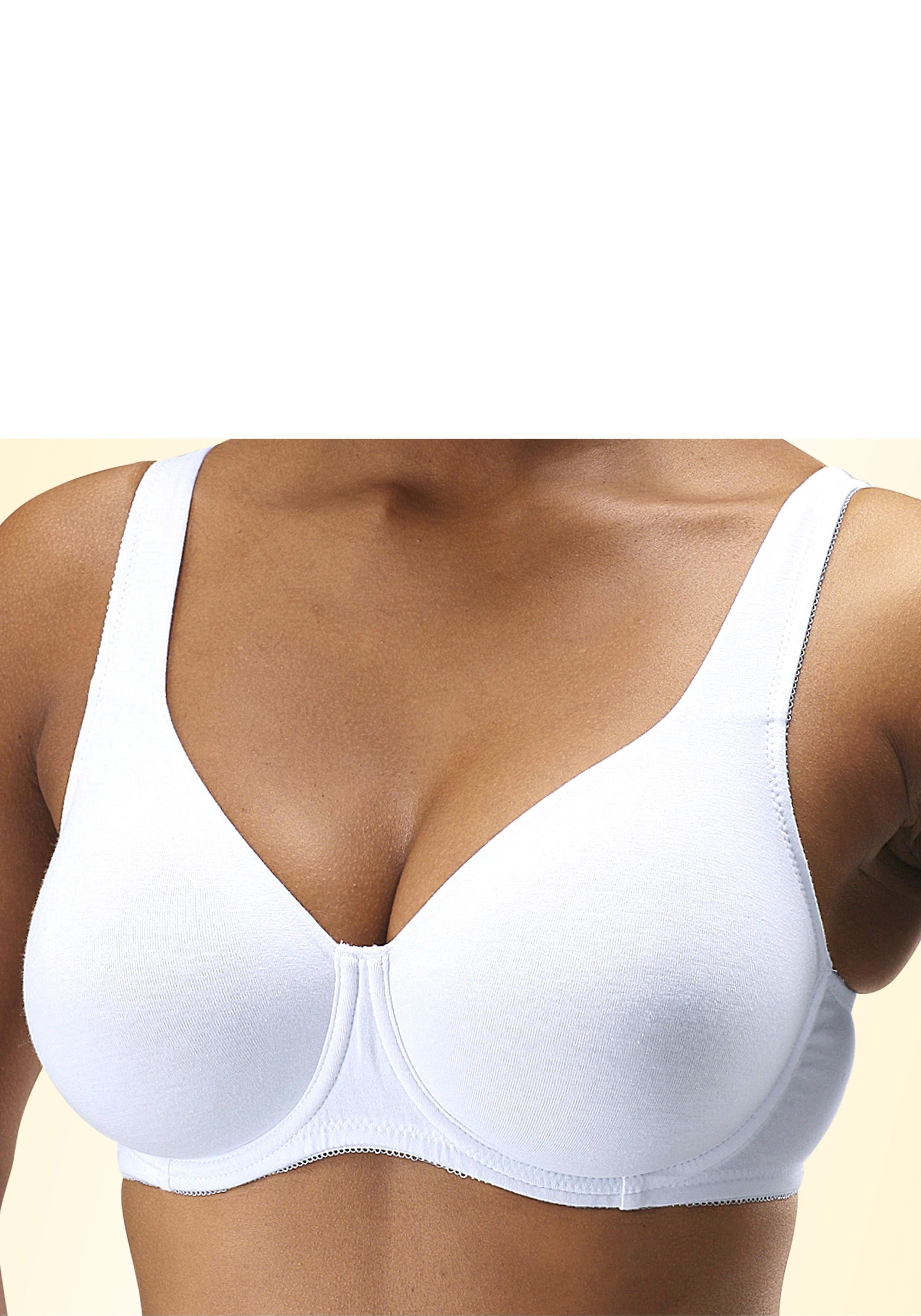 Petite Fleur T-shirt-BH, set van 2 nu online kopen bij OTTO