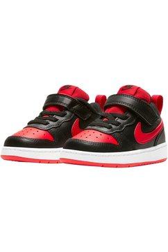 nike sportswear sneakers court borough low 2 zwart