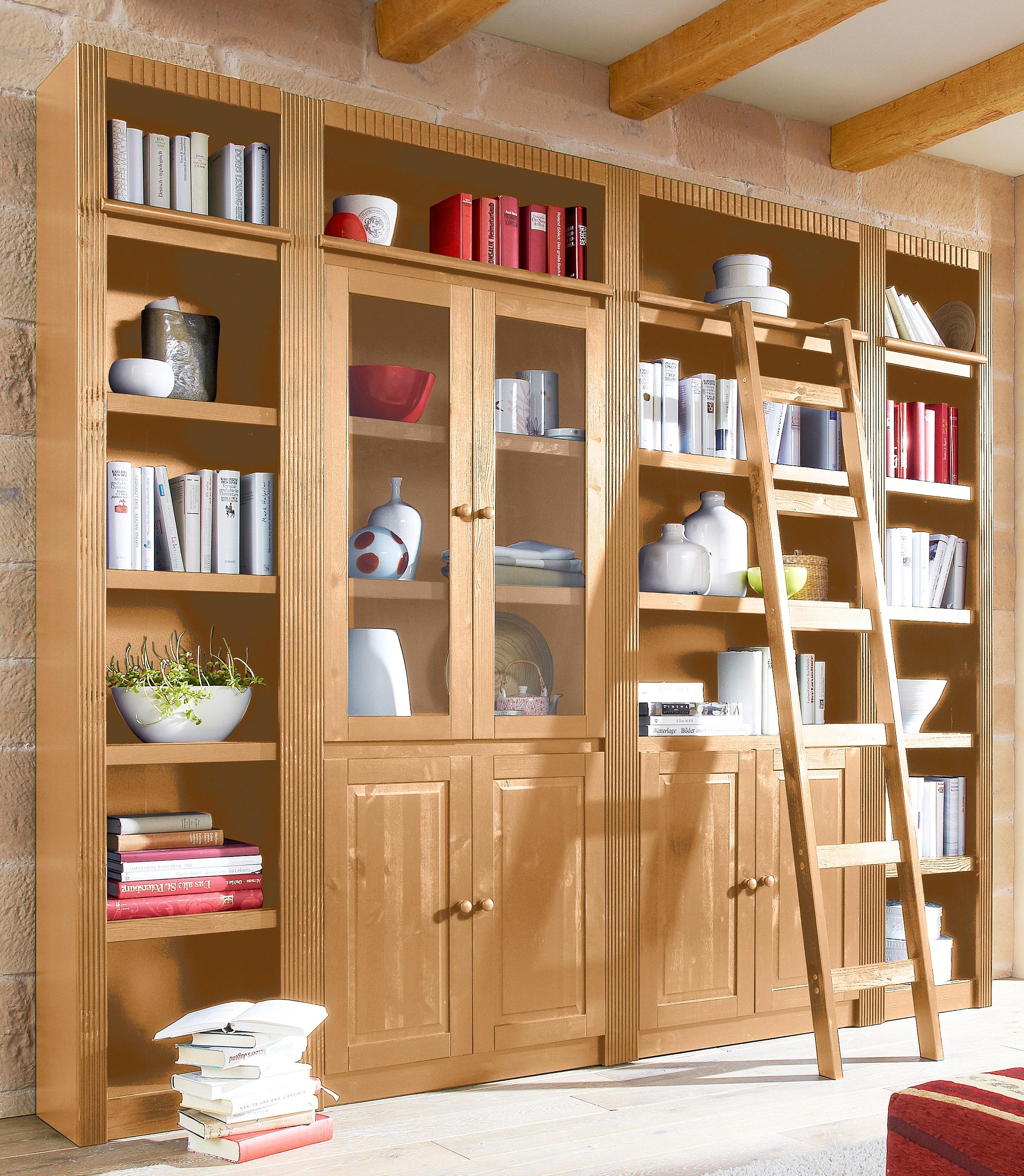 Home affaire Kastenwand Bergen van mooi massief grenenhout, breedte 255 cm nu online kopen bij OTTO