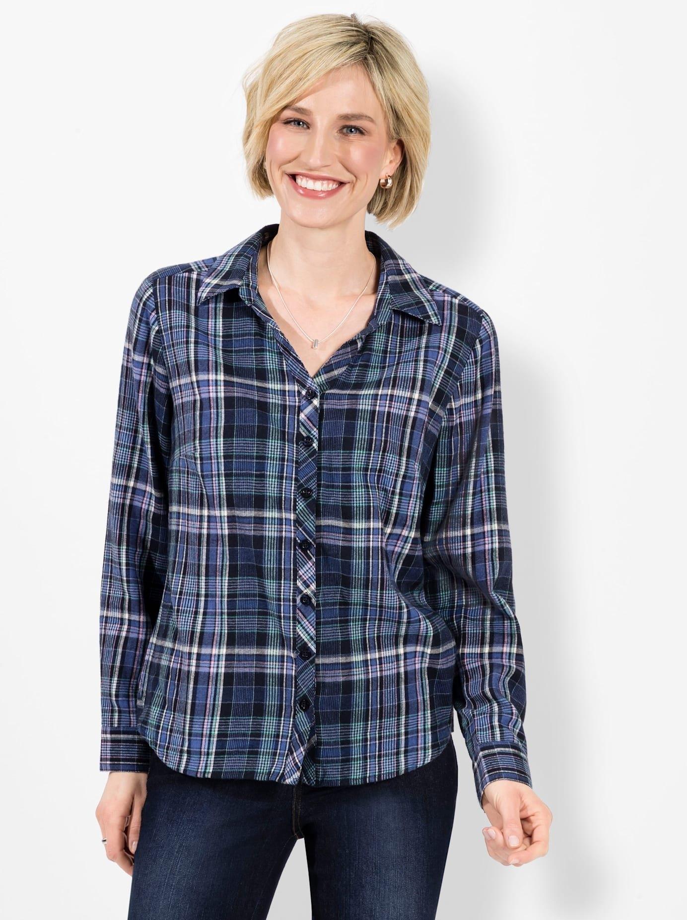 Classic Basics Geruite blouse in de webshop van OTTO kopen
