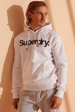 superdry hoodie cl ns hood wit