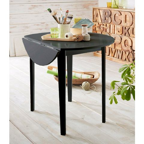 HOME AFFAIRE Eettafel in rond model