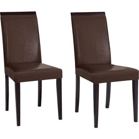 Eetkamerstoelen HOME AFFAIRE Set van 2 stoelen 713630