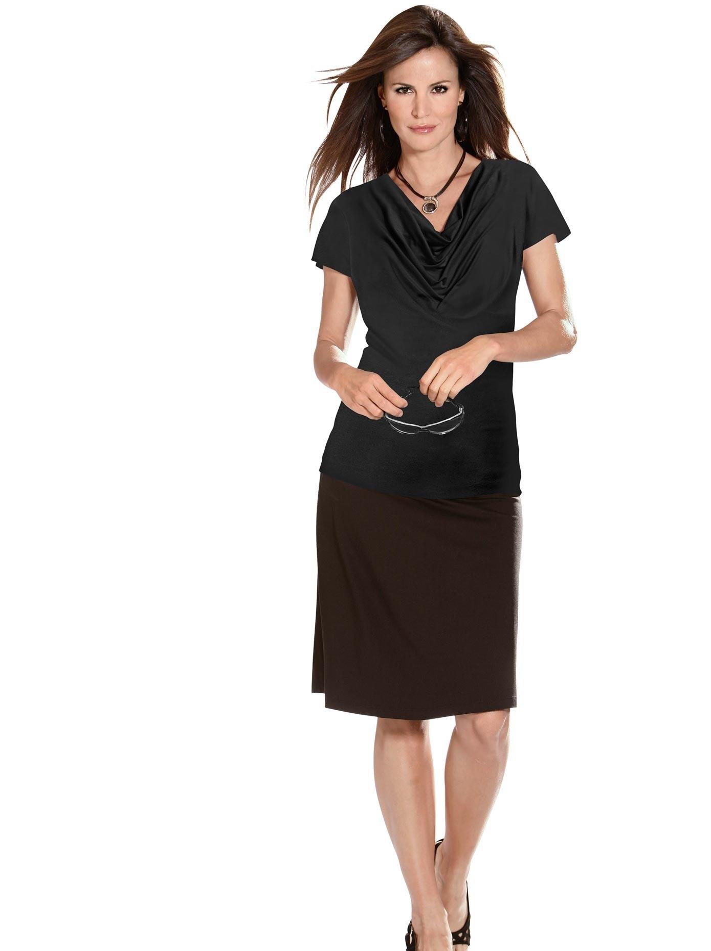 Classic Inspirationen shirt met prachtige cascadehals veilig op otto.nl kopen