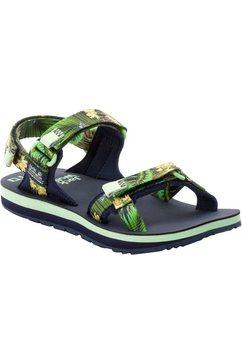 jack wolfskin outdoorsandalen »outfresh deluxe sandal x naito« groen