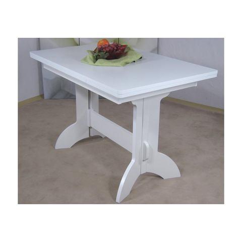 Eettafels Wangentafel met uittrekbaar tafelblad 890824