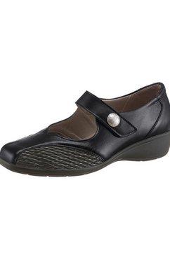 regent ballerina's met verwisselbaar voetbed zwart