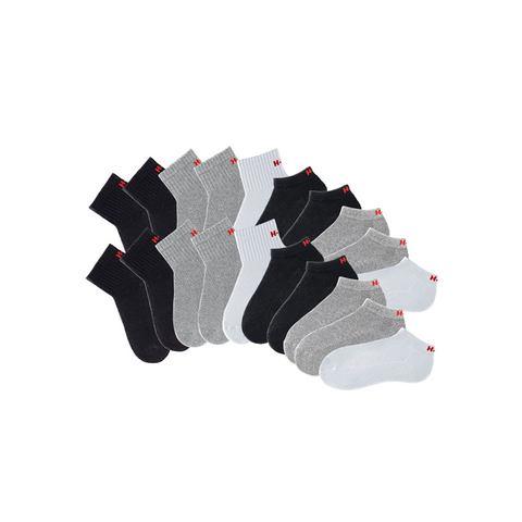 H.I.S sport-kousenvoetjes + korte sokken, 20 paar