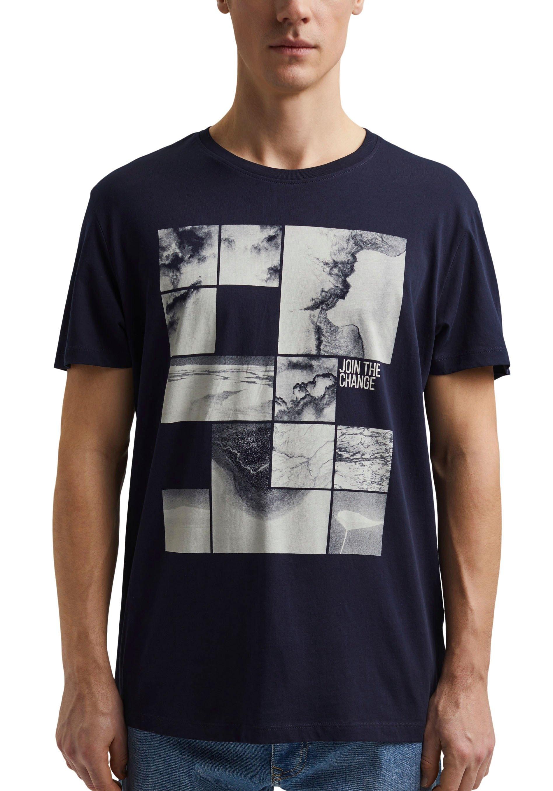 edc by Esprit shirt met print met frontprint - verschillende betaalmethodes