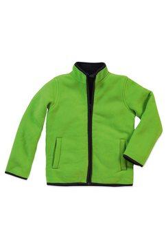 stedman teddy active teddy fleece vest »met uitstekende warmte-isolatie« groen