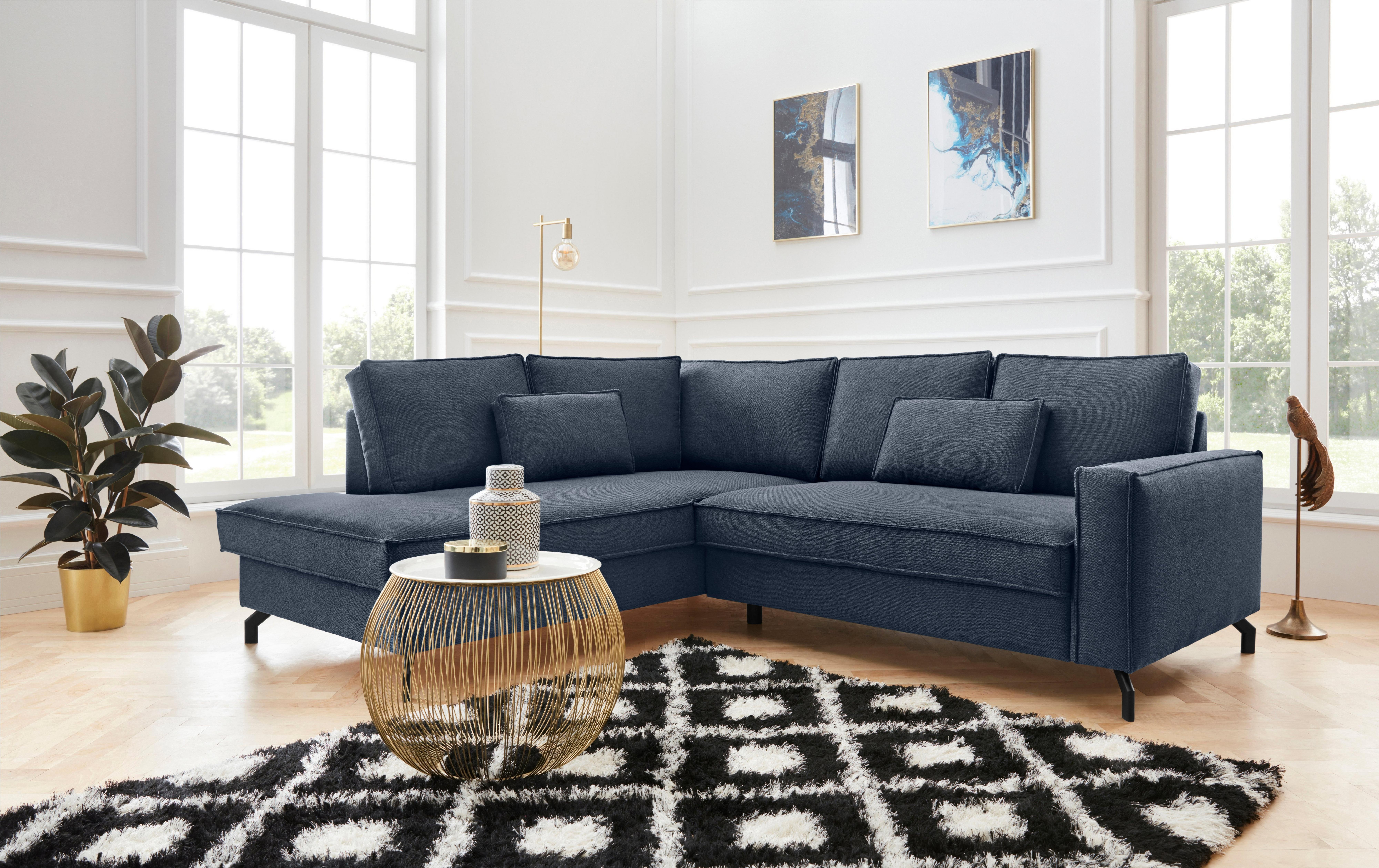 exxpo - sofa fashion hoekbank naar keuze met slaapfunctie en bedkist nu online kopen bij OTTO