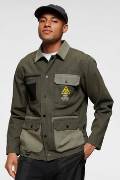 vans canvasjack »drill chore coat military« groen