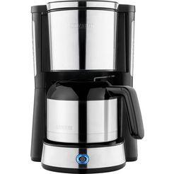 severin »ka 4846« filterkoffieapparaat zilver
