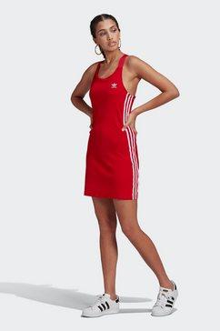adidas originals jurk met spaghettibandjes »adicolor classics racerback kleid« rood