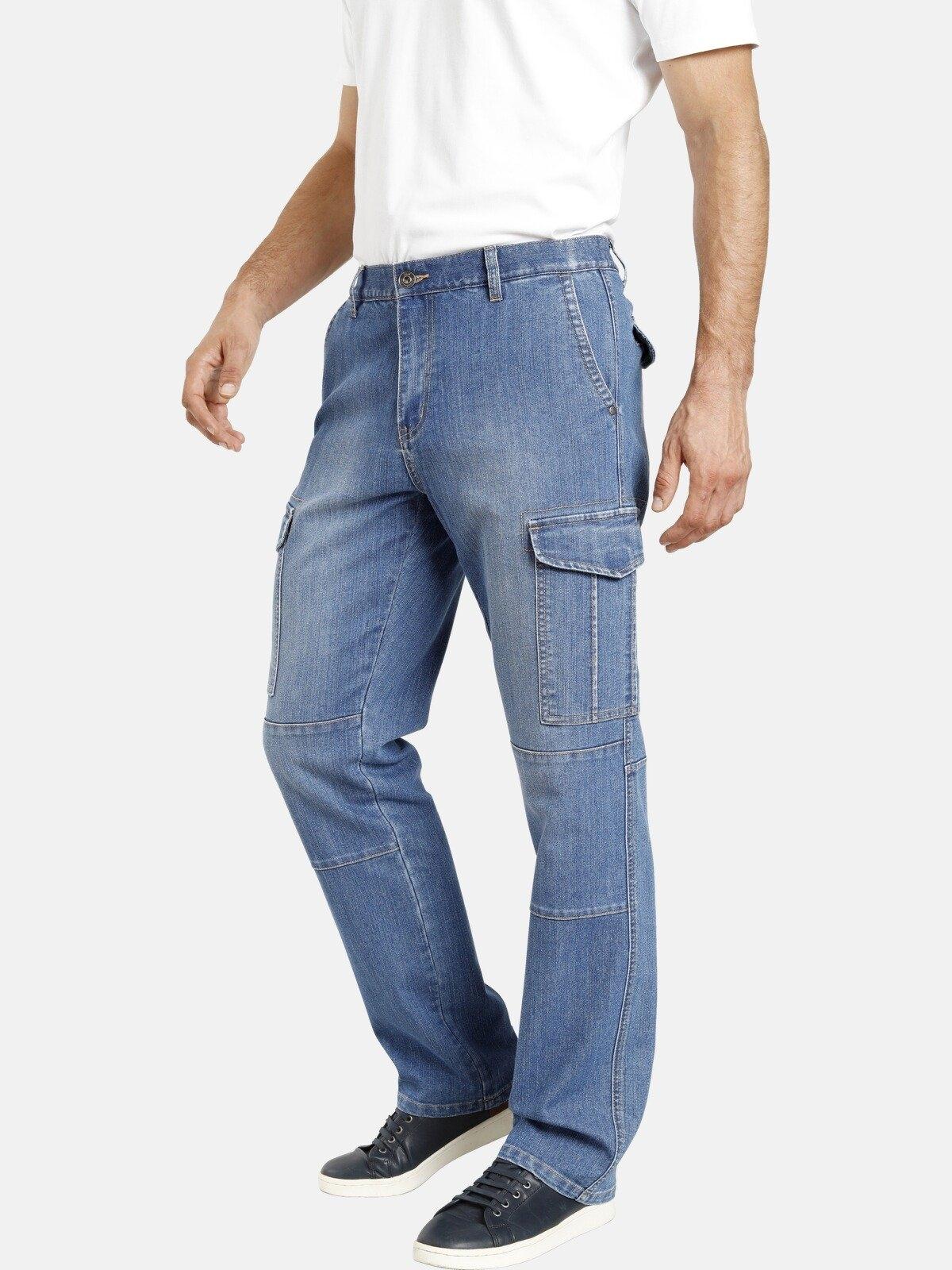 Jan Vanderstorm cargo jeans ELMO met stretchaandeel voordelig en veilig online kopen