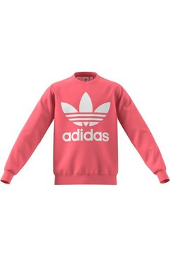 adidas originals sweatshirt trefoil uniseks roze
