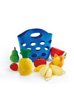hape speellevensmiddelen fruitmandje multicolor