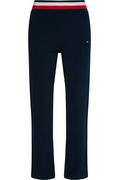 tommy sport joggingbroek »regular global stp pant« blauw
