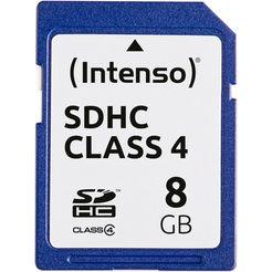 intenso geheugenkaart sdhc class 4 blauw