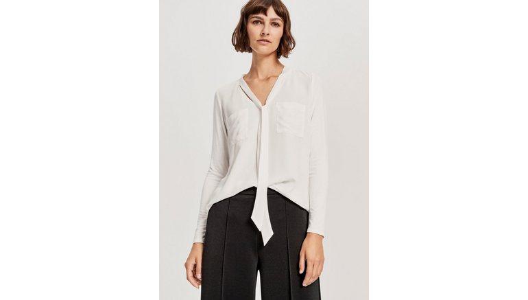 OPUS blouse met kraagstrik »Foki«