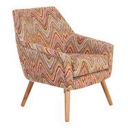 max winzer fauteuil »alan« in retro-look multicolor