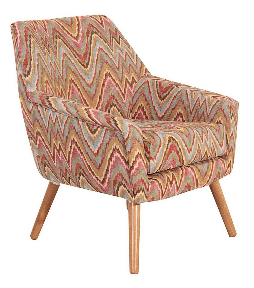 MAX WINZER® fauteuil Alan in retro-look