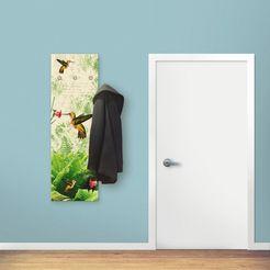 artland kapstok »kolibri« groen