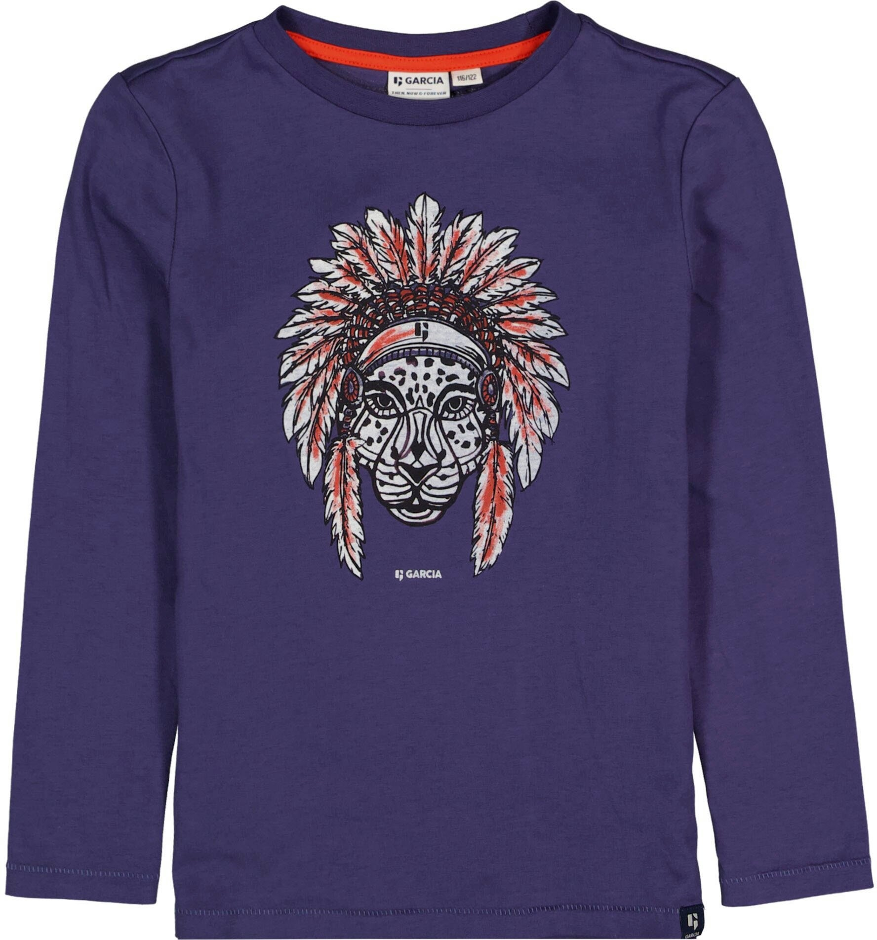 Garcia shirt met lange mouwen Luipaard veilig op otto.nl kopen