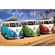 home affaire artprint »vw californian camper - campers«, 90x60 cm multicolor
