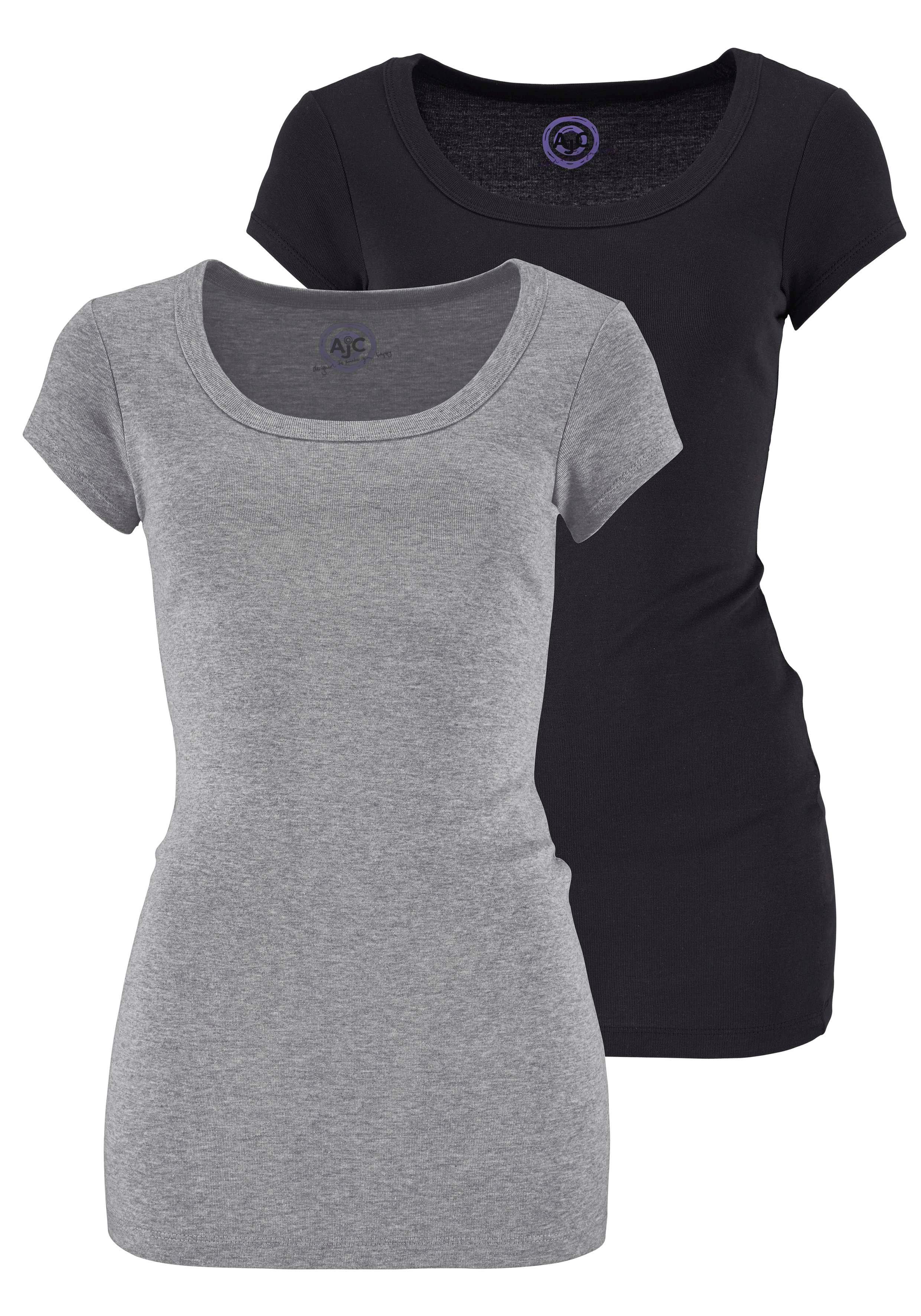 Flashlights T-shirt in een lang model (set, Set van 2) in de webshop van OTTO kopen